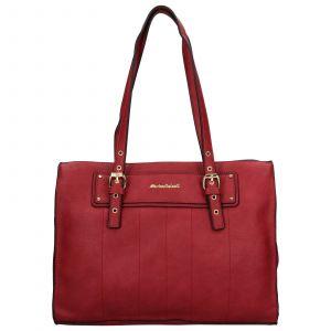 Dámská kabelka Marina Galanti Báta – tmavě červená