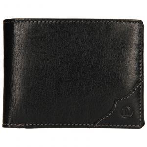Pánská kožená peněženka Lagen Milan – černá