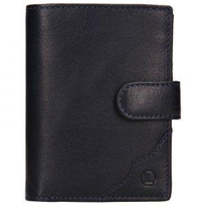 Pánská kožená peněženka Lagen Antonín – modrá