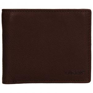 Pánská kožená peněženka Lagen Jan – hnědá