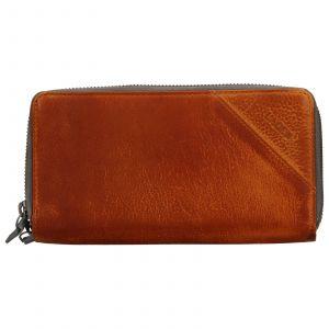 Dámská kožená peněženka Lagen Eva – hnědá
