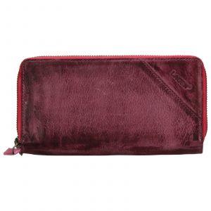 Dámská kožená peněženka Lagen Eva – fialová