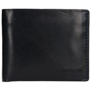 Pánská kožená peněženka Lagen Dalimil – modrá