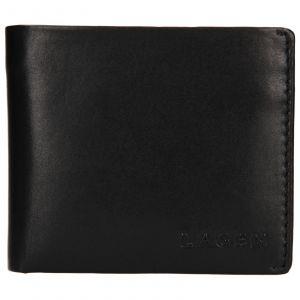 Pánská kožená peněženka Lagen Dalimil – černá