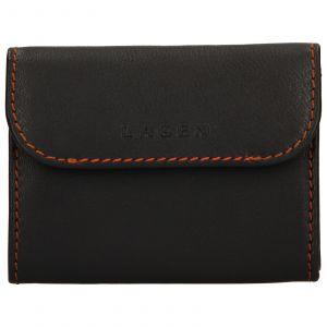 Pánská kožená peněženka Lagen Robin – hnědá