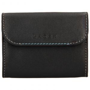 Pánská kožená peněženka Lagen Robin – černá