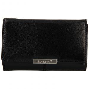 Dámská kožená peněženka Lagen Emily – černá