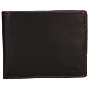 Pánská kožená peněženka Lagen Luket – hnědá