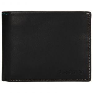 Pánská kožená peněženka Lagen Luket – černá