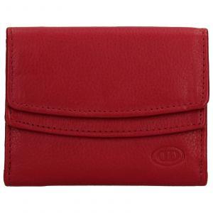 Dámská kožená peněženka DD Anekta Renna – červená