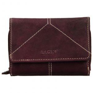 Dámská kožená peněženka Lagen Katie – fialová