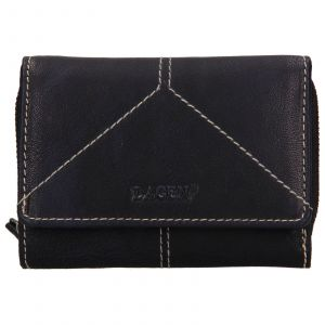 Dámská kožená peněženka Lagen Katie – modrá