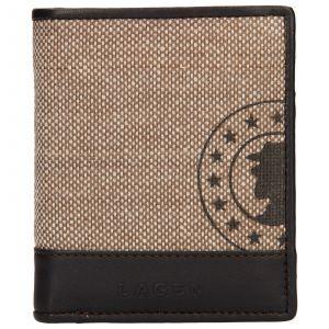 Pánská kožená peněženka Lagen Adam – hnědá