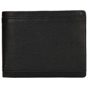 Pánská kožená peněženka Lagen Luke – černá