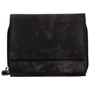 Dámská kožená peněženka Lagen Olivia – černá