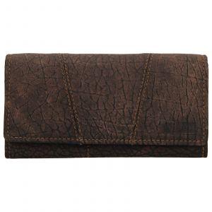 Dámská kožená peněženka Lagen Britta – hnědá