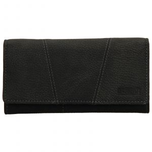 Dámská kožená peněženka Lagen Britta – černá