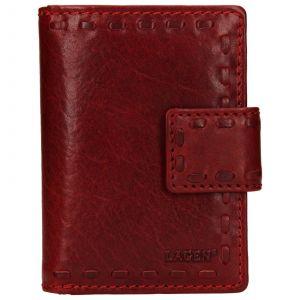 Dámská kožená peněženka Lagen Hannah – červená
