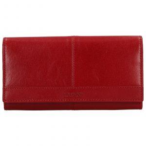 Dámská kožená peněženka Lagen Sophie – červená