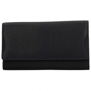 Dámská kožená peněženka Lagen Sarah – modrá