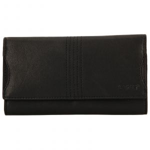 Dámská kožená peněženka Lagen Sarah – černá
