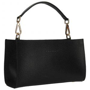 Dámská kožená kabelka Facebag Bety – černá