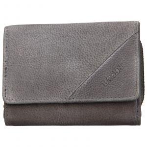 Dámská kožená peněženka Lagen Norra – šedá