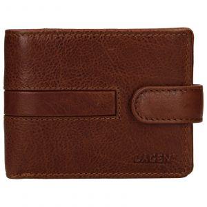 Pánská kožená peněženka Lagen Vander – světle hnědá