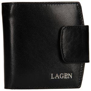 Dámská kožená peněženka Lagen Ljuba – černá