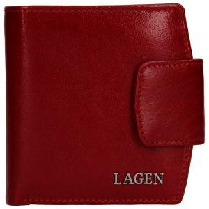 Dámská kožená peněženka Lagen Ljuba – červená