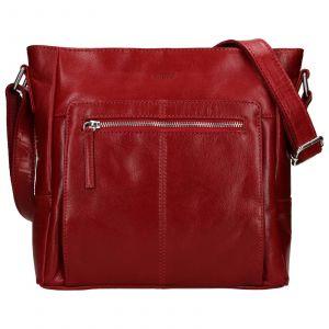 Dámská crosbody kabelka Lagen Esmé – červená