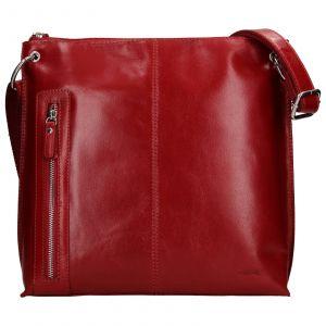 Dámská crosbody kabelka Lagen Ambra – červená