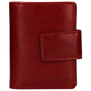 Dámská kožená peněženka Lagen Adina – červená