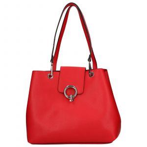 Dámská kabelka Emily & Noah Linda – červená