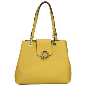 Dámská kabelka Emily & Noah Linda – žlutá