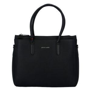 Dámská kabelka černá – Pierre Cardin Gabriele černá