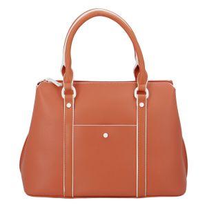 Dámská kabelka do ruky oranžová – DIANA & CO Cerendy oranžová