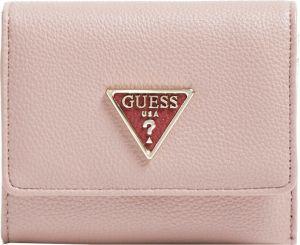 Guess Dámská peněženka Kirby Slg Small Trifold SWVG78 72430 mauve-mau