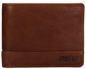 Lagen Pánská kožená peněženka 1998/T Tan