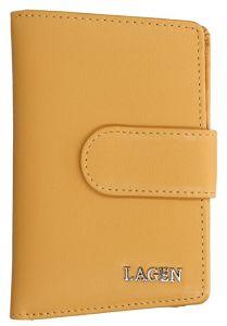 Lagen Dámská kožená peněženka 50313 golden nugget