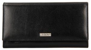 Lagen Dámská kožená peněženka 50038 Black