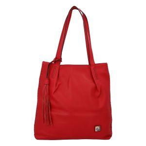 Velká dámská kabelka přes rameno červená – Pierre Cardin Elis červená