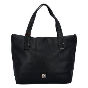 Velká dámská kabelka přes rameno černá – Pierre Cardin Altin černá