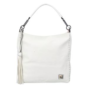 Velká dámská kabelka přes rameno bílá – Pierre Cardin Elis bílá