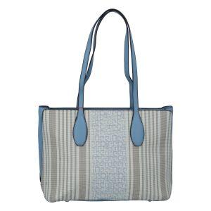 Dámská kabelka přes rameno bledě modrá – Pierre Cardin Sofien modrá