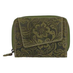 Dámská kožená peněženka zelená – Tomas Pierluigi zelená