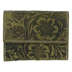 Dámská kožená peněženka zelená – Tomas Elia zelená