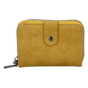 Dámská praktická tmavě žlutá peněženka – Just Dreamz Erin žlutá