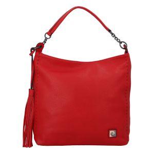 Velká dámská kabelka přes rameno červená – Pierre Cardin Elia červená