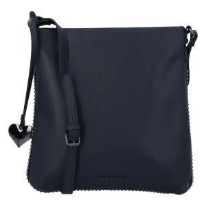 Dámská módní crossbody kabelka tmavě modrá – Marco Tozzi Coco tmavě modrá